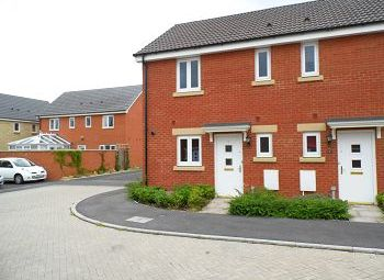 Thumbnail 2 bed semi-detached house to rent in Leisler Gardens, Trowbridge