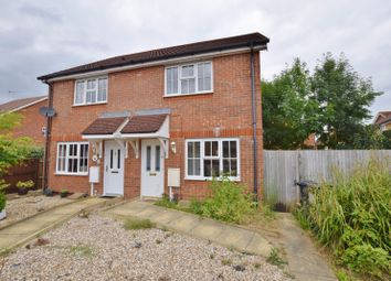 Thumbnail 2 bed semi-detached house to rent in Skylark Way, Ashford, Kent