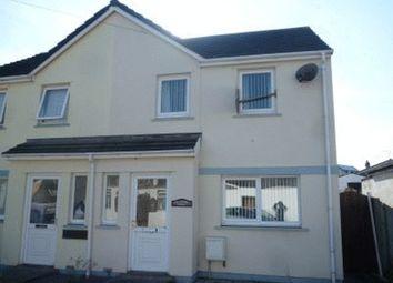Thumbnail 2 bed semi-detached house to rent in Bufferland Terrace, Pembroke Dock