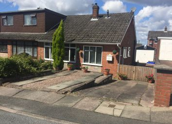 Thumbnail 2 bed semi-detached bungalow for sale in Lamerton Grove, Weston Coyney, Stoke-On-Trent