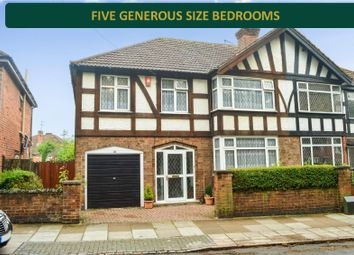 Thumbnail 5 bedroom semi-detached house for sale in Stanley Road, Stoneygate, Leicester