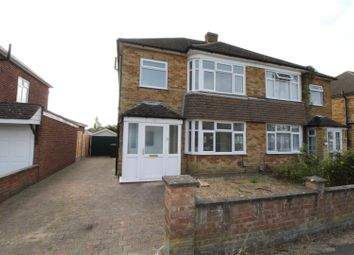 Thumbnail 3 bed semi-detached house to rent in Leafields, Houghton Regis, Dunstable