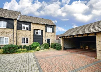 Thumbnail 3 bed end terrace house for sale in Weir Cottage Close, Eaton Ford, St. Neots, Cambridgeshire