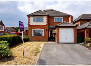 Thumbnail 4 bed detached house for sale in Greenfield Crescent, Grange Moor, Wakefield