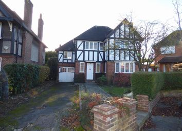 Thumbnail 4 bed detached house to rent in Ashbourne Close, Ealing, London