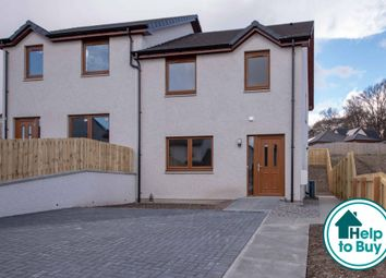 Thumbnail 3 bedroom semi-detached house for sale in Wards Drive, Muir Of Ord, Highland