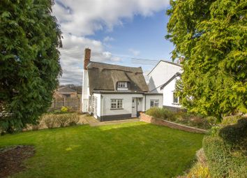 Thumbnail 2 bedroom detached house for sale in Low Street, Bardwell, Bury St. Edmunds