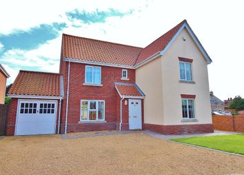 Thumbnail 4 bedroom detached house for sale in Jubilee Walk, Martham, Great Yarmouth