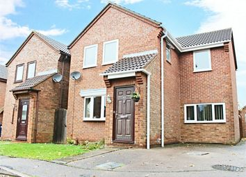Thumbnail 4 bed detached house for sale in Field Close, Alconbury, Huntingdon
