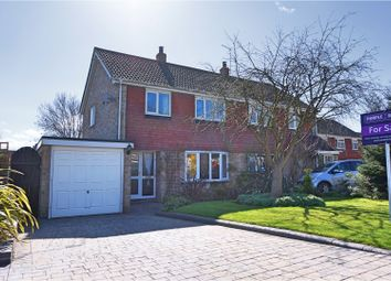 Thumbnail 3 bed semi-detached house for sale in Neville Way, Stanford Of The Vale