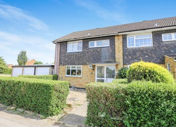Thumbnail 3 bed end terrace house for sale in Allison, Letchworth Garden City, Hertfordshire, England