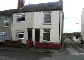 Thumbnail 2 bed terraced house to rent in Hardwick Street, Tibshelf, Derbyshire