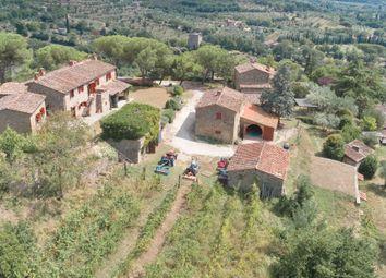 Thumbnail 11 bed farmhouse for sale in Cortona, Arezzo, Tuscany, Italy