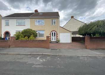 Thumbnail 4 bed semi-detached house for sale in Marion Road, Hanham, Bristol