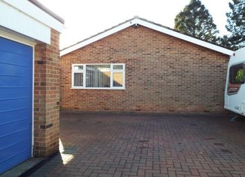 Thumbnail 2 bed bungalow to rent in Park Lane, Castle Donington, Derby