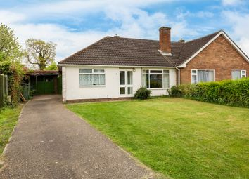 Thumbnail 3 bed semi-detached bungalow for sale in Chestnut Road, St. Ives, Huntingdon