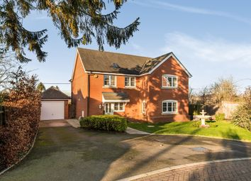 Thumbnail 4 bed detached house for sale in Steeplechase Court, Picket Twenty, Andover