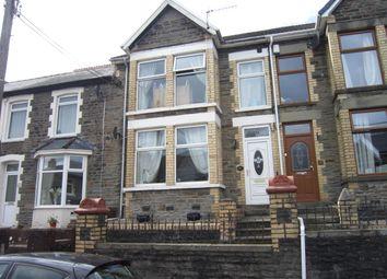 Thumbnail 3 bed terraced house for sale in John Street, Bargoed