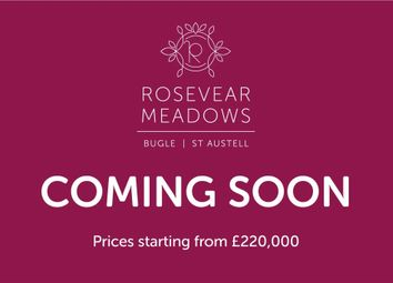 Thumbnail 3 bed detached bungalow for sale in Rosevear Road, Bugle, St. Austell, Cornwall