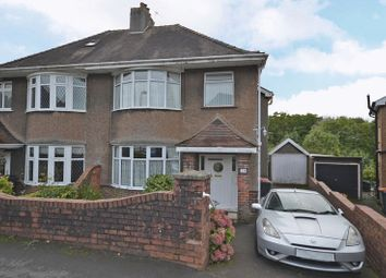 Thumbnail 3 bed semi-detached house for sale in Larger Than Average Period House, Merlin Crescent, Newport
