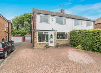Thumbnail 5 bed semi-detached house for sale in Primley Park View, Alwoodley, Leeds