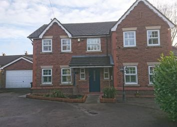 Thumbnail 4 bed detached house to rent in Common Lane, Culcheth, Warrington, Cheshire