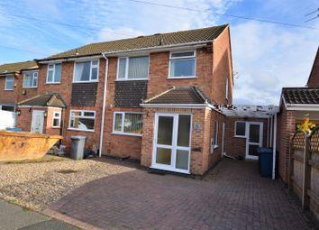 Thumbnail 3 bed semi-detached house for sale in Stonebridge Drive, East Leake, Loughborough