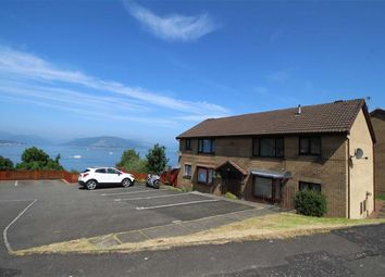 Thumbnail 1 bed flat for sale in Dunrobin Drive, Gourock