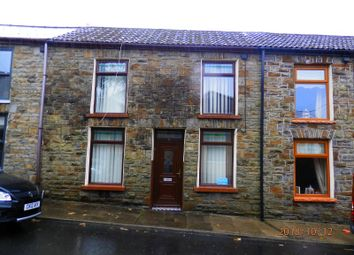 Thumbnail 2 bed terraced house for sale in Windsor Street, Pentre, Rhondda Cynon Taff.