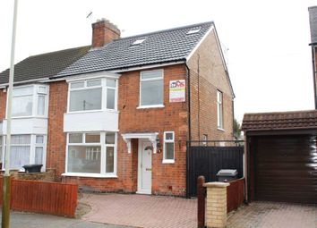 Thumbnail 5 bed semi-detached house for sale in Strathmore Avenue, Leicester