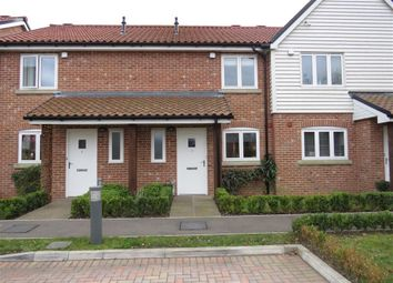 Thumbnail 2 bed terraced house to rent in Rutter Close, Ditchingham, Bungay