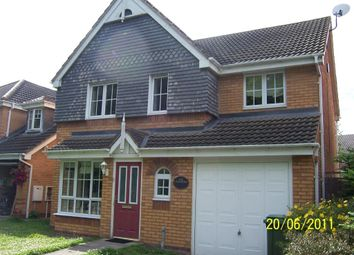 Thumbnail 4 bed detached house for sale in Skey Drive, Nuneaton