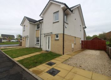 Thumbnail 3 bed semi-detached house for sale in Willowford Place, Glasgow