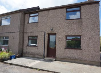 Thumbnail 3 bed semi-detached house to rent in Lon Wern, Bangor