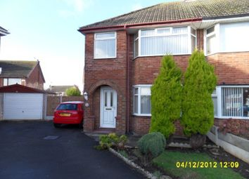 Thumbnail 3 bedroom terraced house to rent in Highcroft Avenue, Bispham, Blackpool
