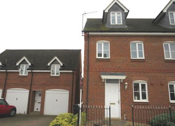 Thumbnail 3 bed end terrace house for sale in The Meadows, Old Stratford, Milton Keynes