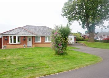 Thumbnail 4 bed detached bungalow for sale in Celyn Close, Weston Rhyn, Oswestry