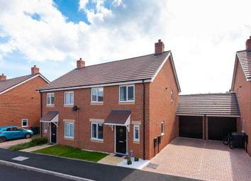 Thumbnail 3 bed semi-detached house for sale in Penson Way, Shrewsbury