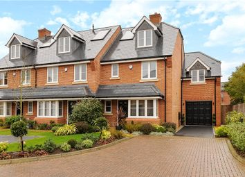 Thumbnail 4 bedroom end terrace house for sale in Ridings Close, Ascot, Berkshire