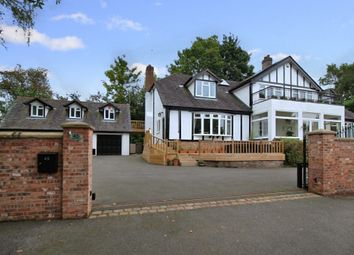 Thumbnail 4 bed detached house for sale in Park Drive, Crewe, Cheshire