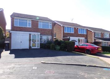 Thumbnail 3 bedroom detached house for sale in Launceston Close, Walsall