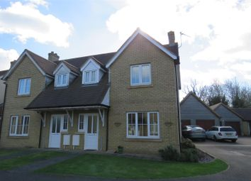 Thumbnail 3 bed semi-detached house for sale in Longlands Close, Warboys, Huntingdon