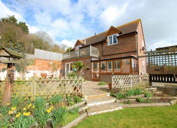 Thumbnail 3 bed detached house for sale in Seabrook Road, Hythe