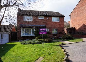 Thumbnail 4 bed detached house for sale in Denewood Way, Kenilworth
