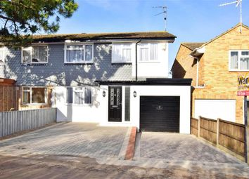 Thumbnail 4 bed semi-detached house for sale in Minster Road, Parish Road, Minster On Sea, Sheerness, Kent