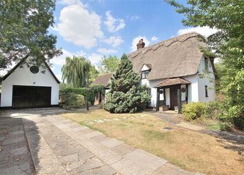 Thumbnail 3 bed detached house for sale in Leaden Roding, Dunmow, Essex