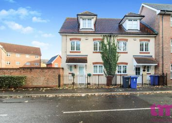 Thumbnail 3 bed town house to rent in Caspian Way, Purfleet