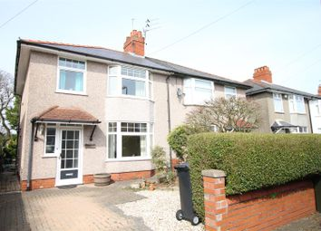Thumbnail 3 bed semi-detached house for sale in Waunfawr Road, Heath, Cardiff