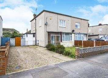 Thumbnail 3 bed semi-detached house for sale in East Tilbury, Essex, .
