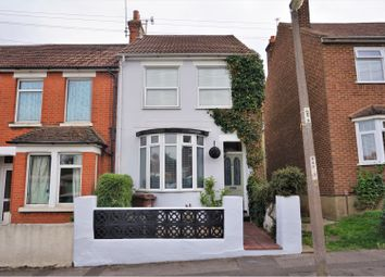 Thumbnail 3 bed end terrace house for sale in Harvey Road, Rainham